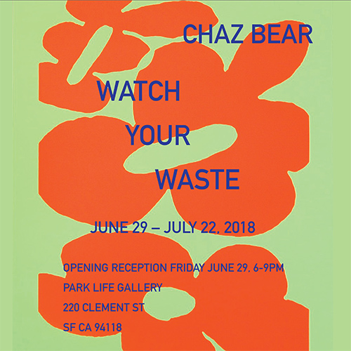 Chaz Bear Show Poster